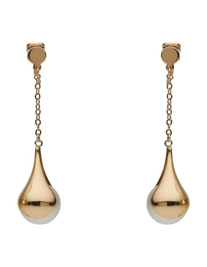 Pod Pearl Long Drop Earring image 1
