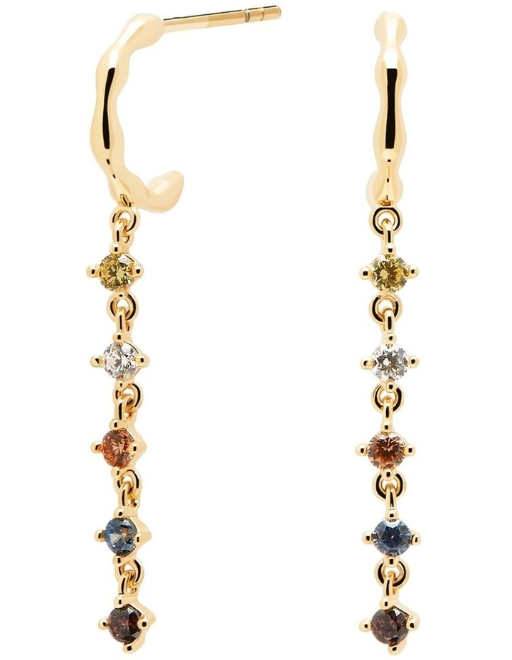 Sage Gold Earrings image 1