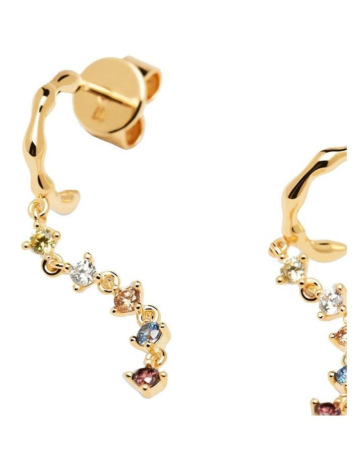 Sage Gold Earrings image 2