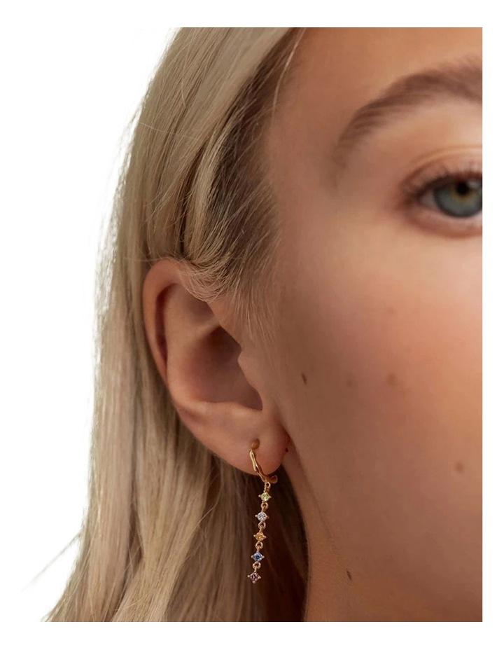 Sage Gold Earrings image 3