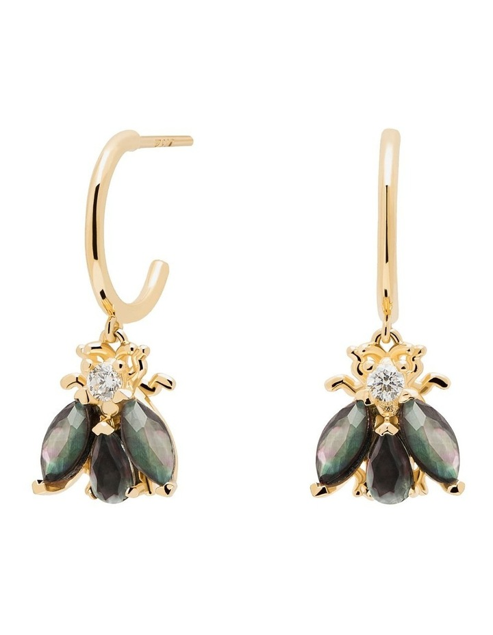 Zaza 18ct Gold Plated Earrings image 1
