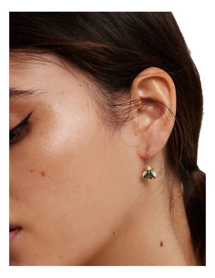 Zaza 18ct Gold Plated Earrings image 3
