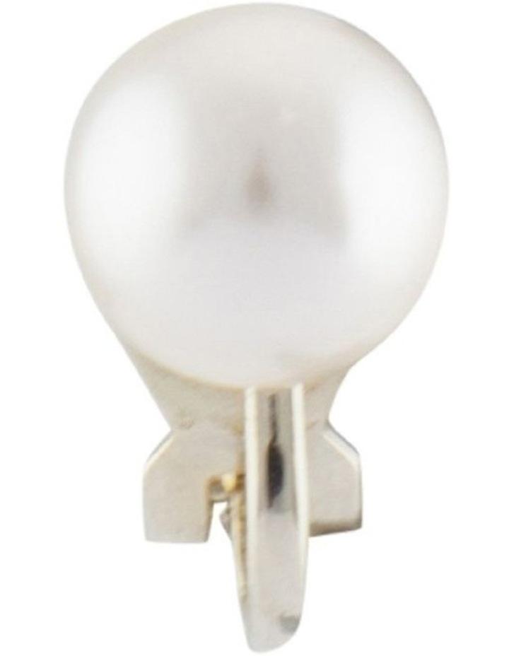 8mm Pearl Clip Earrings image 3