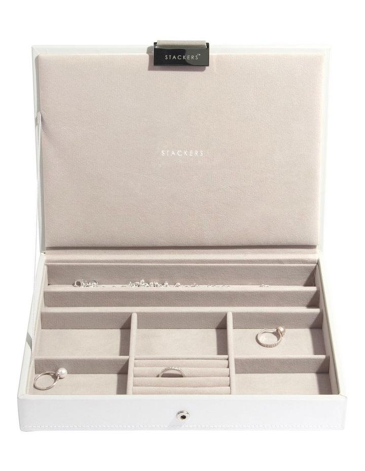 Classic Lid White Jewellery Box image 2