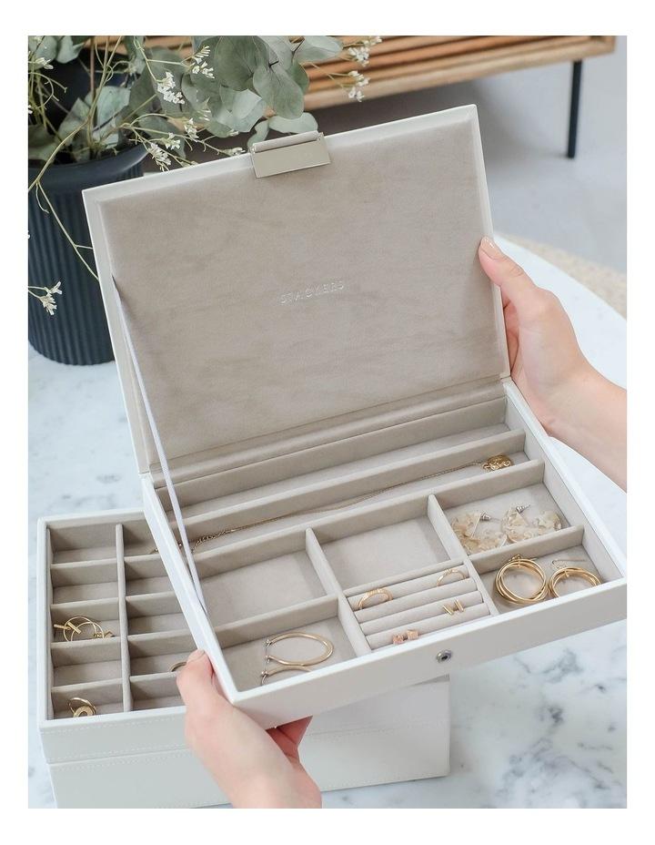 Classic Lid White Jewellery Box image 3