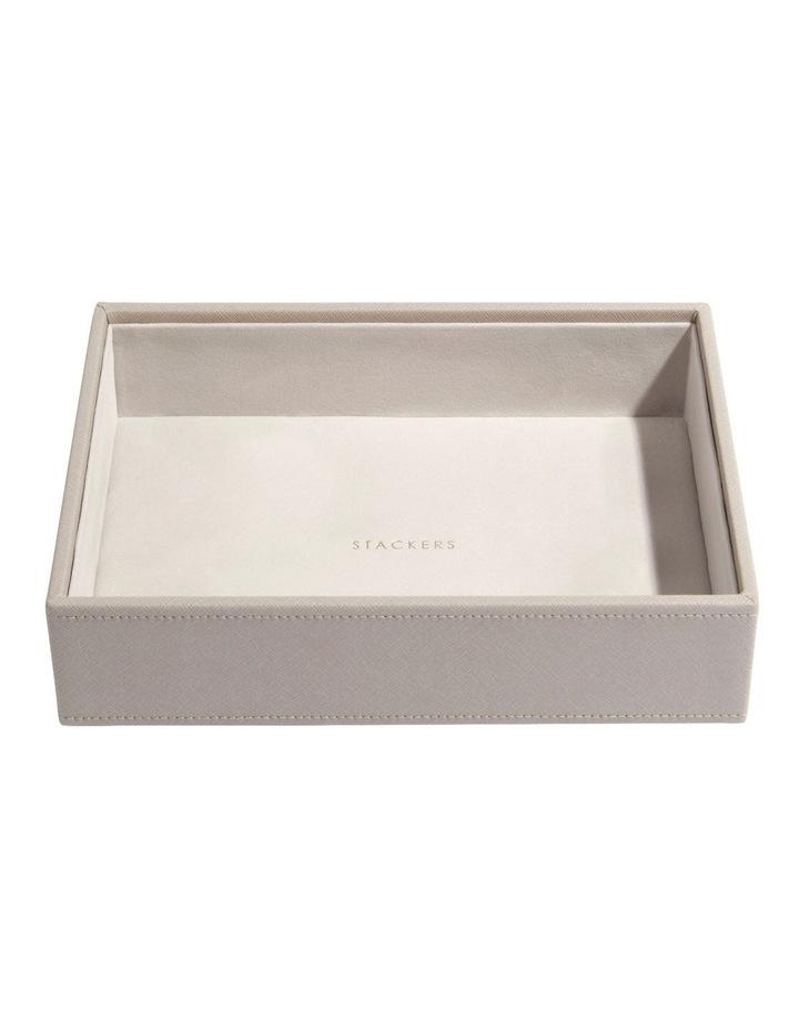Classic Deep Chunky Layer Taupe Jewellery Box image 1
