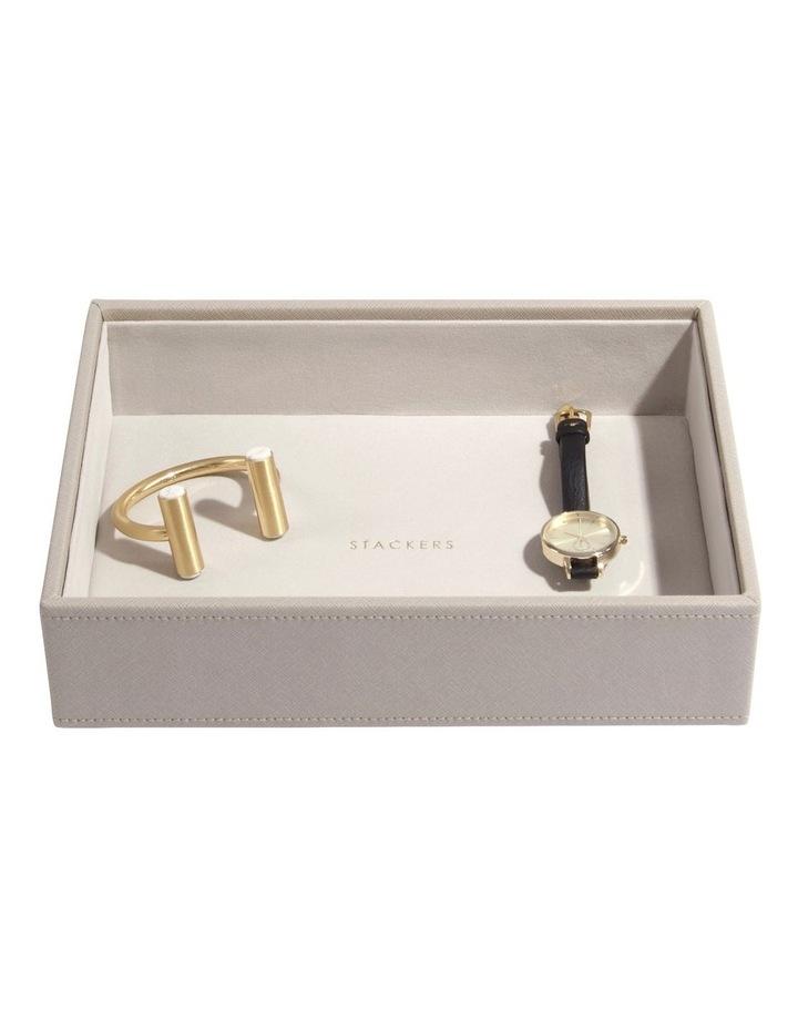 Classic Deep Chunky Layer Taupe Jewellery Box image 2