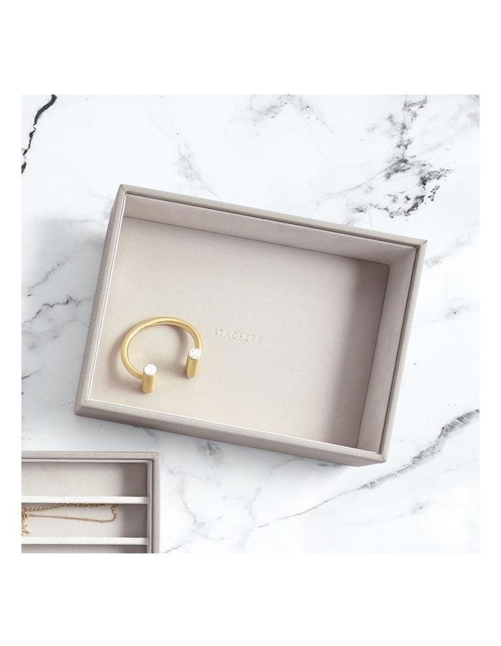 Classic Deep Chunky Layer Taupe Jewellery Box image 4