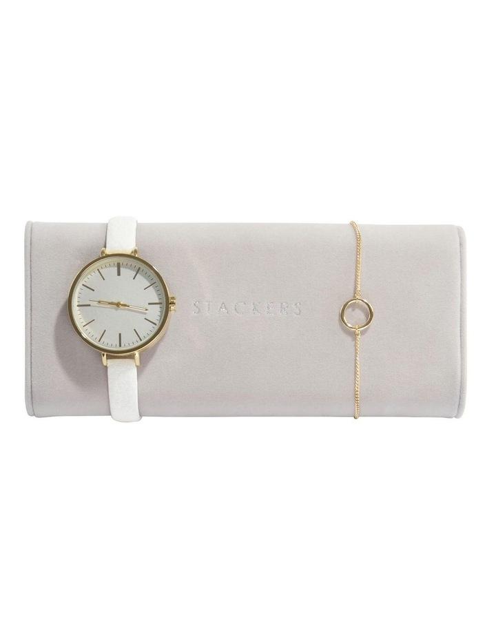 Watch Bracelet Pad Grey Jewellery Box image 2