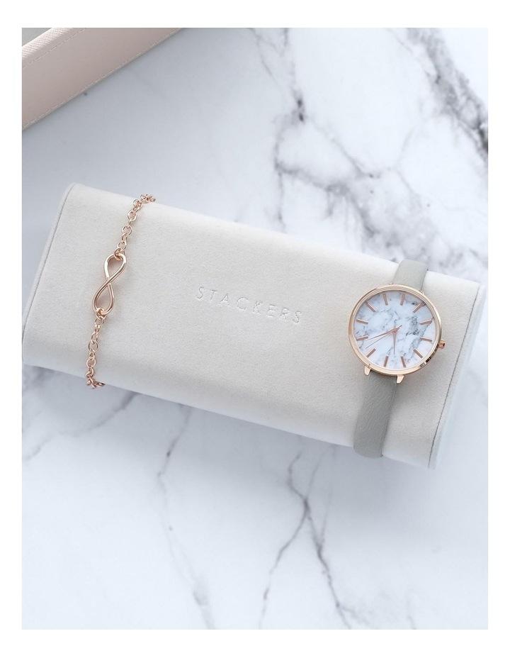 Watch Bracelet Pad Grey Jewellery Box image 4