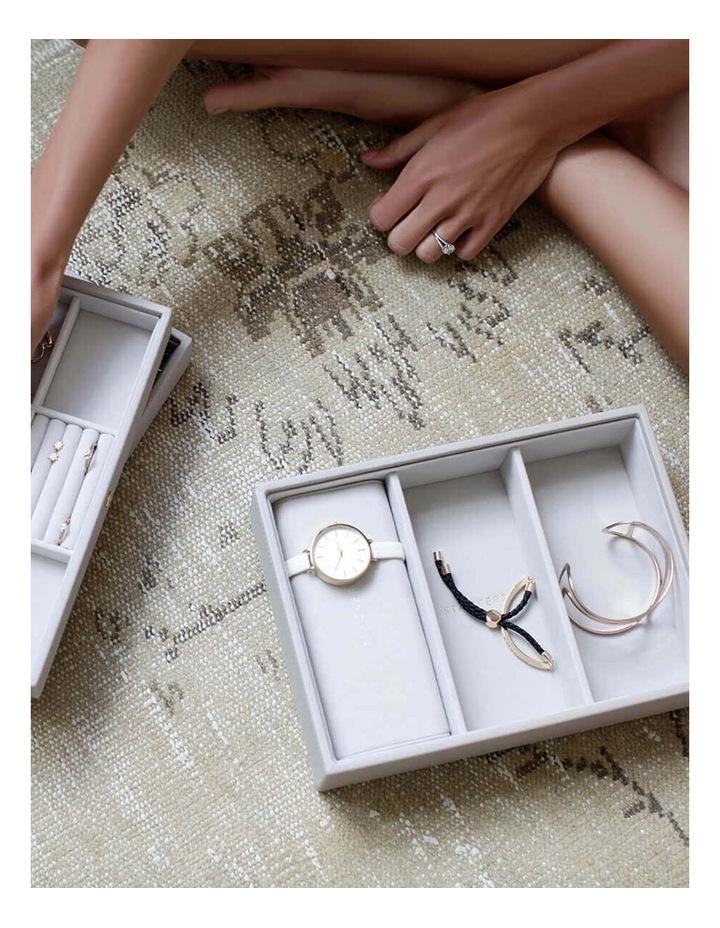 Watch Bracelet Pad Grey Jewellery Box image 6