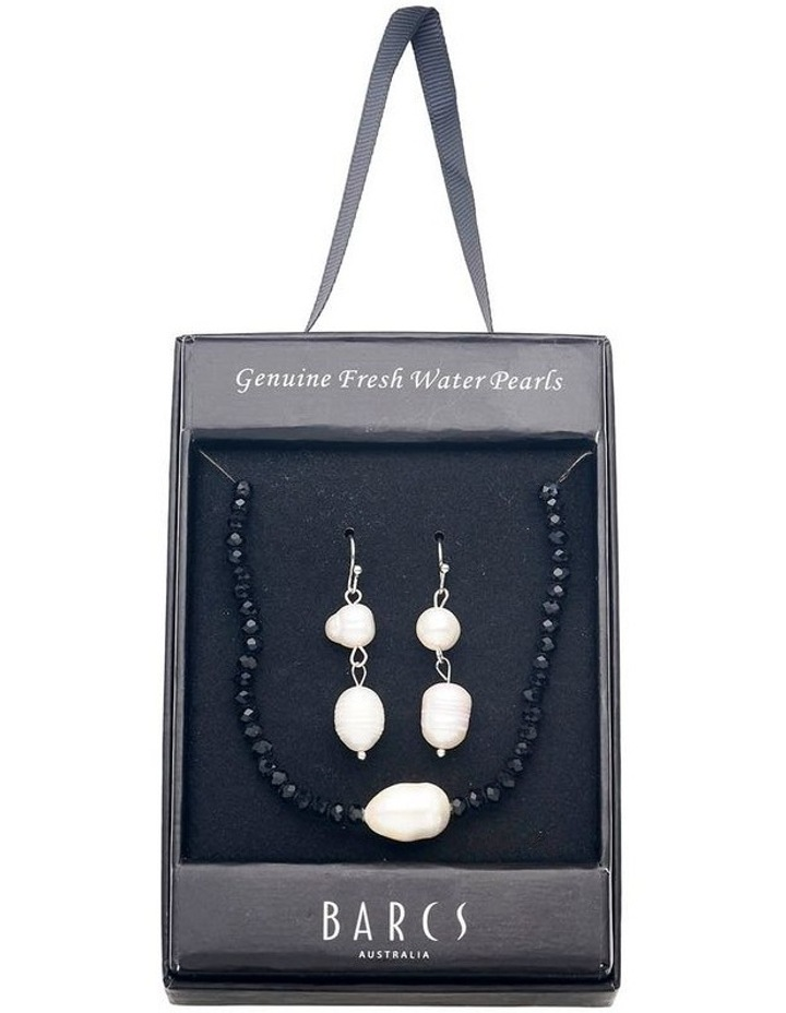 Freshwater Pearl & Crystal Set image 1