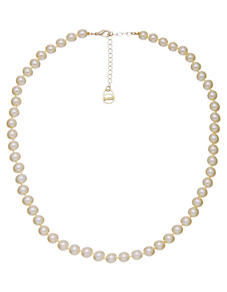 B373Nl-Ivo Essential 8Mm Pearl Necklace image 1