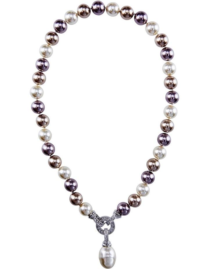 B407NL Barogue O Ring Drop Necklace image 1