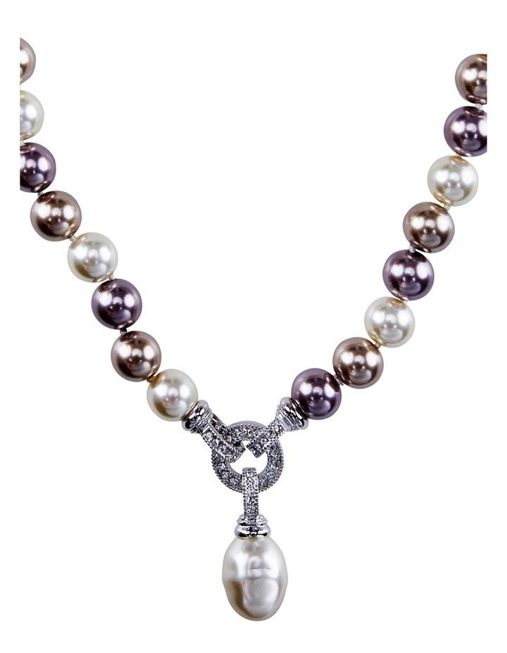 B407NL Barogue O Ring Drop Necklace image 2
