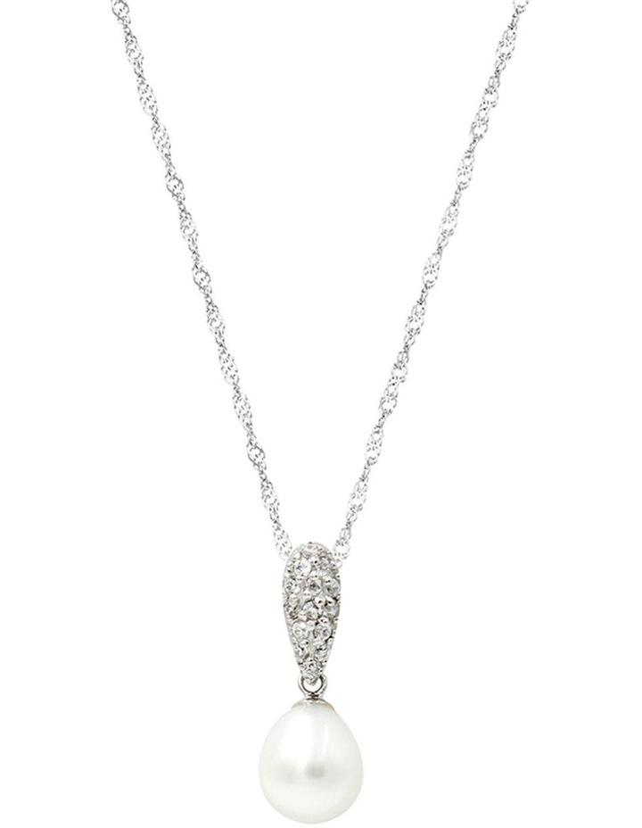 Gift Box Silver Pearl Pendant image 2