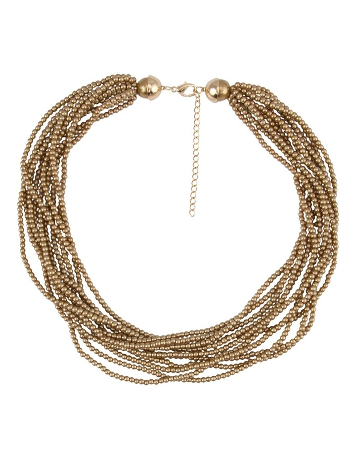 Pearl Volume Necklace B620NL-GLD image 1