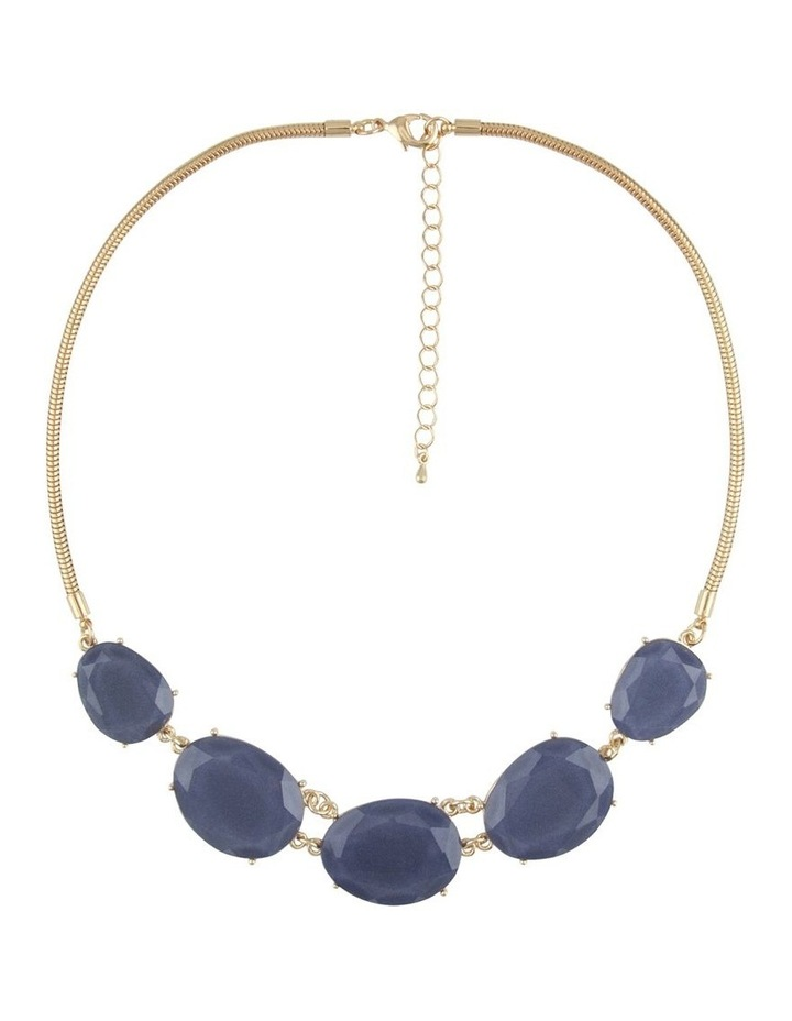 Indigo Statement Necklace image 1