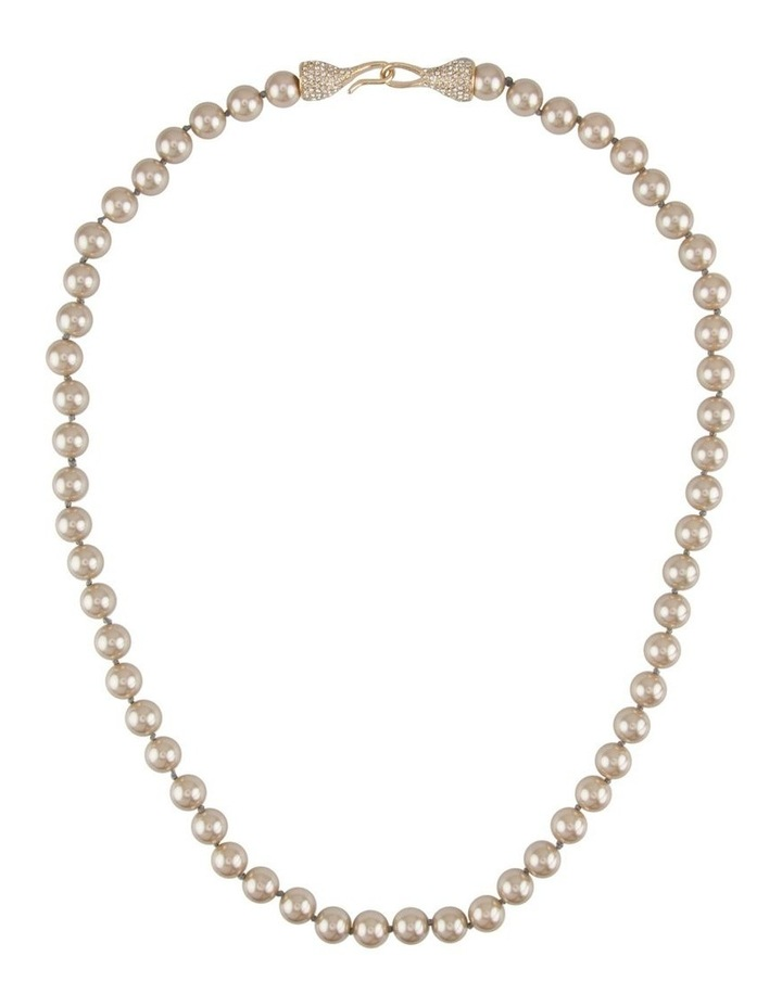 Audrey Feature Clasp Pearl Rope image 1