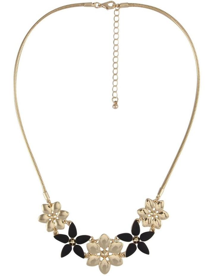 Multi Flower Necklace image 1