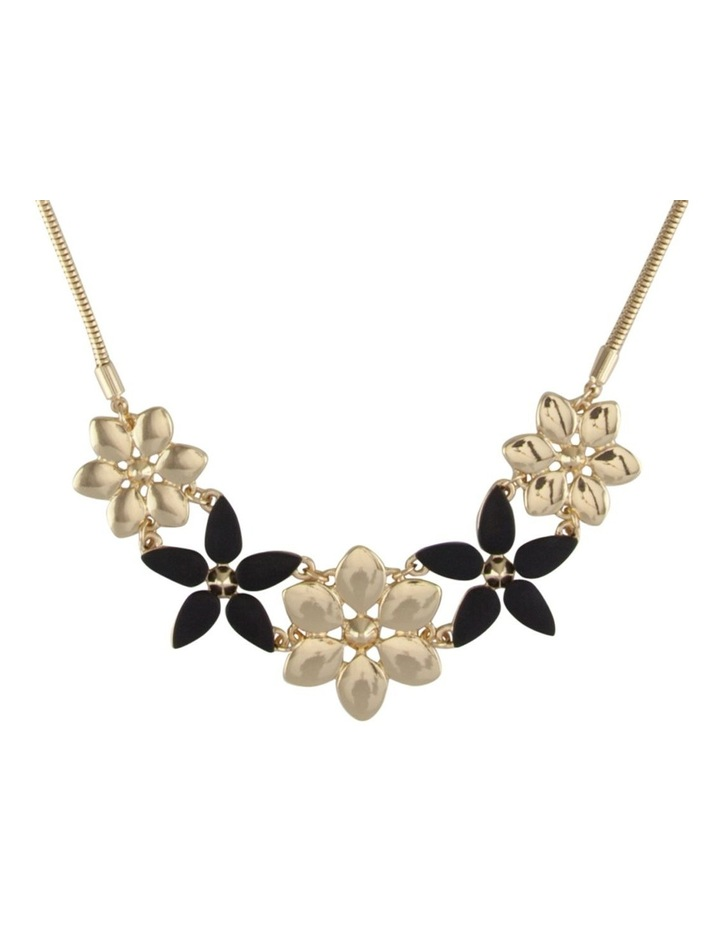 Multi Flower Necklace image 2