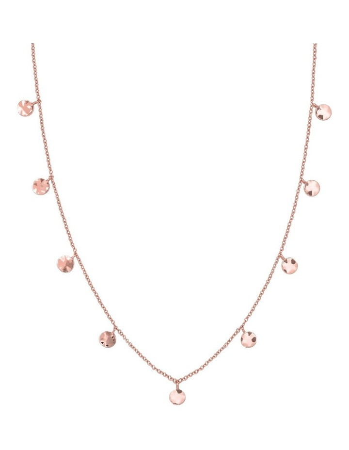 Iggy Textured Coins Double Wrap Rose Gold image 1