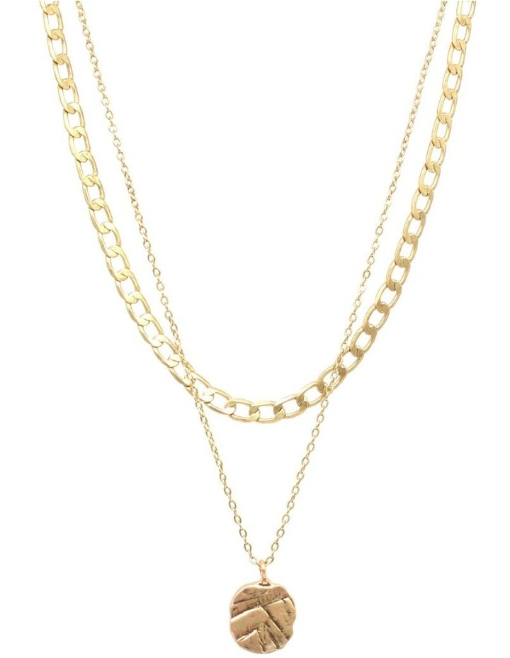 Odine Double Necklace Gold image 1