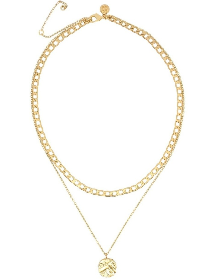 Odine Double Necklace Gold image 2
