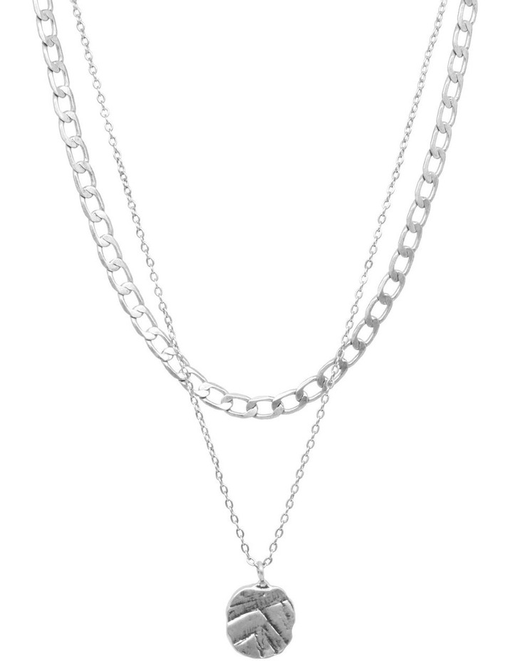 Odine Double Necklace Silver image 1