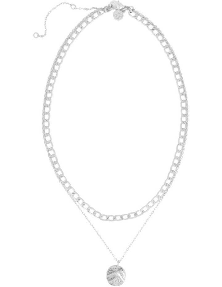 Odine Double Necklace Silver image 2
