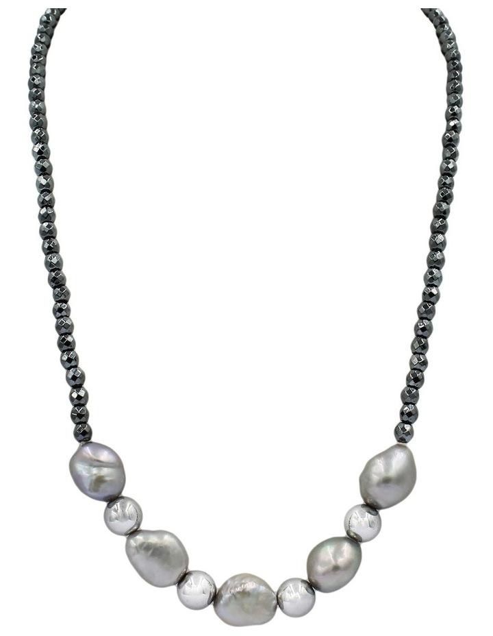 Contemporary Baroque Pearl Necklace image 1