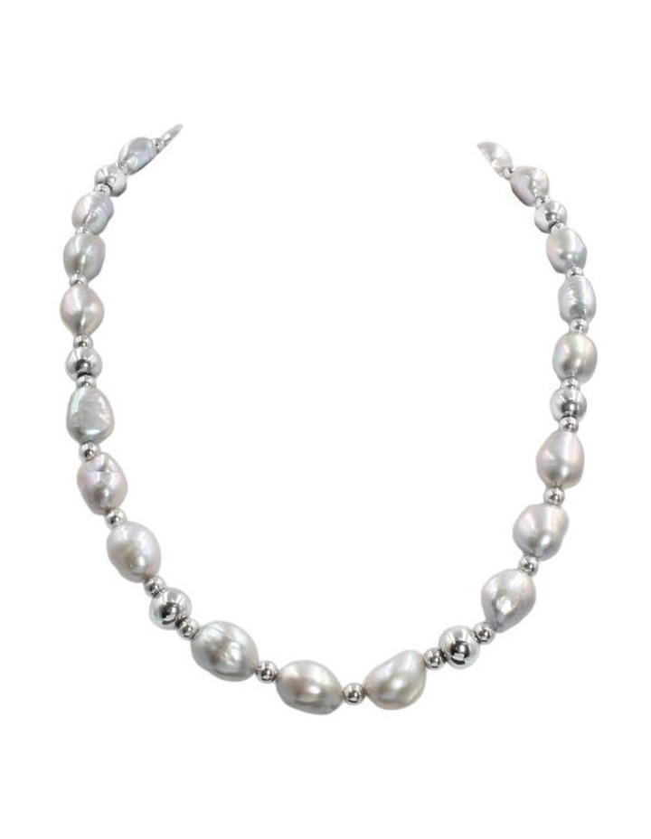 Baroque Pearl Statement Necklace image 1