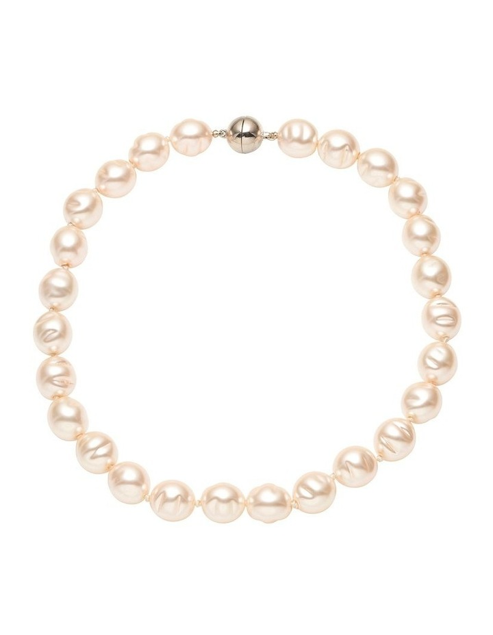 Baroque  Pearl Magnetic Necklace image 1