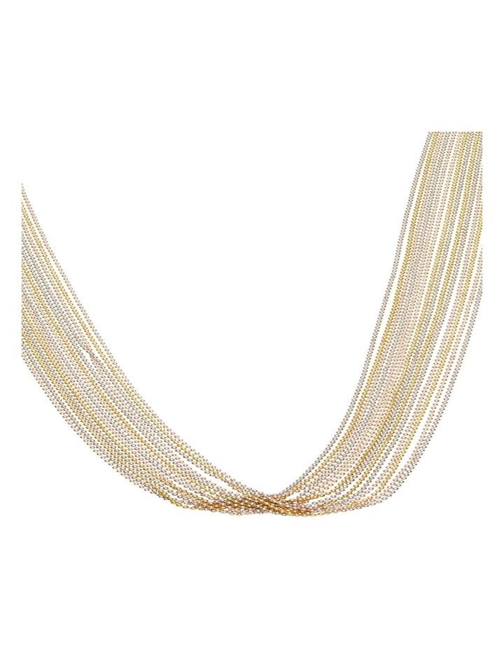 Multi Chain Drape Necklace image 2