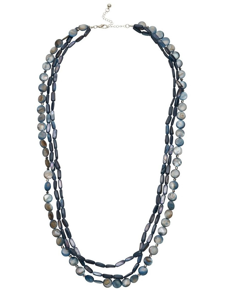 Multi-Layer Shell Necklace image 1