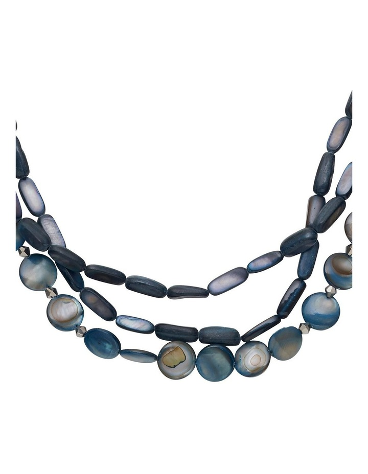Multi-Layer Shell Necklace image 2