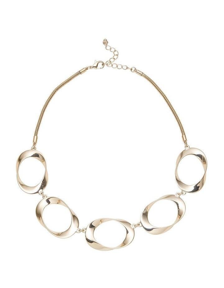 """Short """"O"""" Link Necklace image 1"""