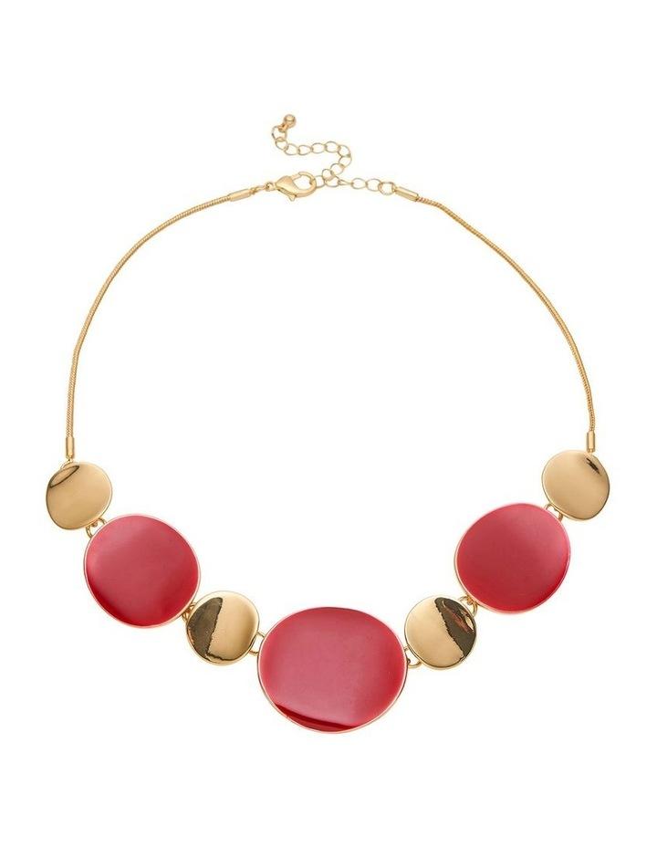 Enamel Collar Necklace image 1