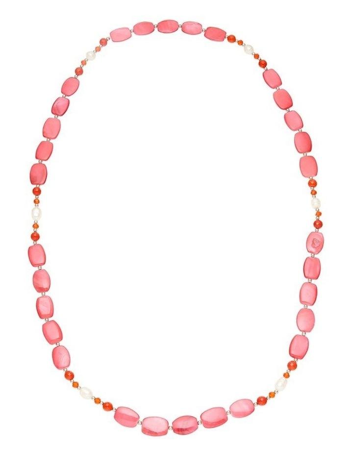 Elegant Shell Rope Necklace image 1