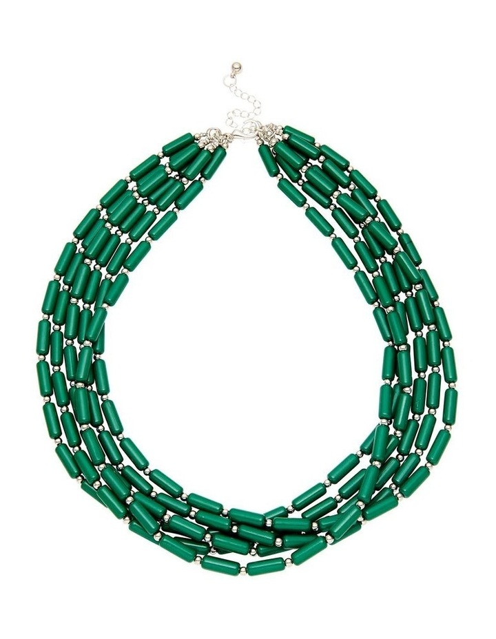 Multi Bead Layer Necklace image 1