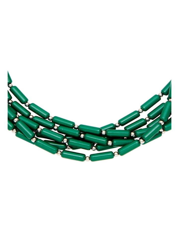 Multi Bead Layer Necklace image 2