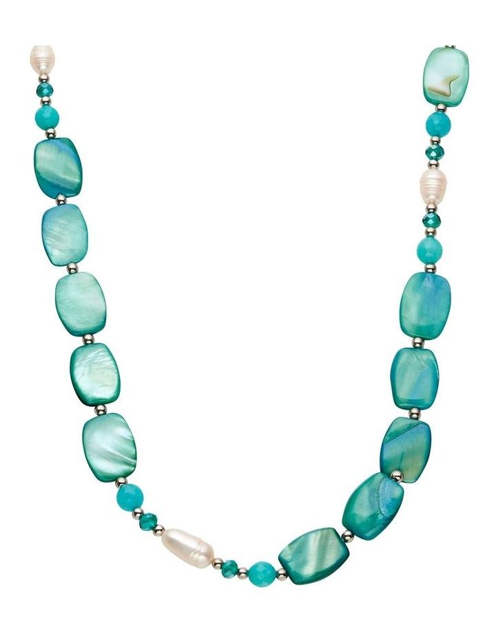 Elegant Shell Rope Necklace image 2