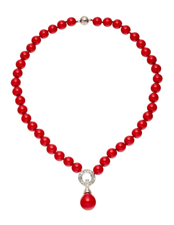 Solid Bead Fob Necklace image 1