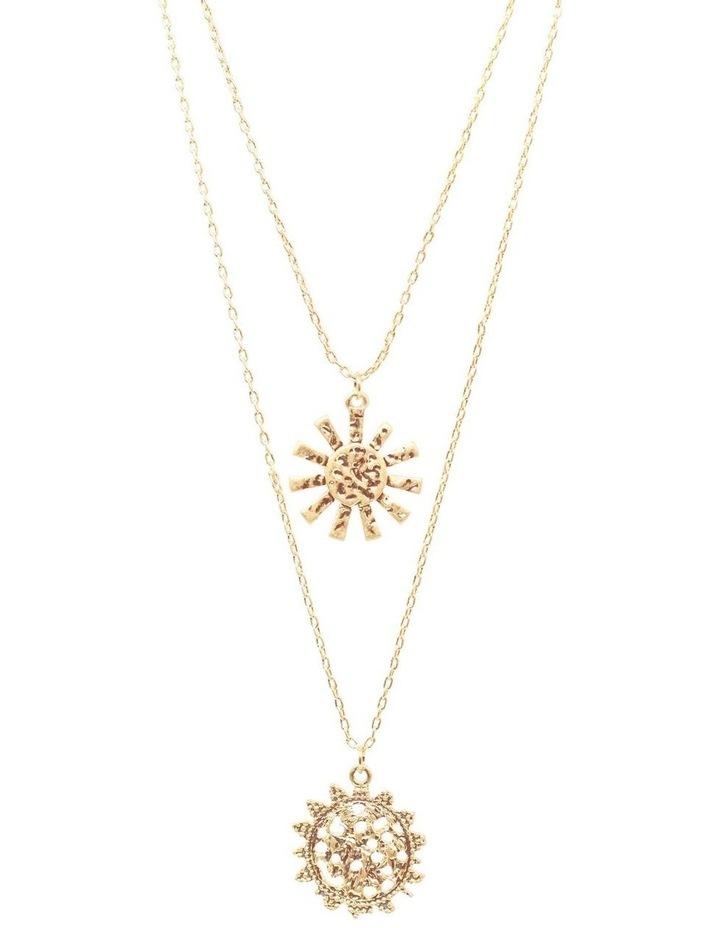 Girasole Double Pendant Necklace image 1