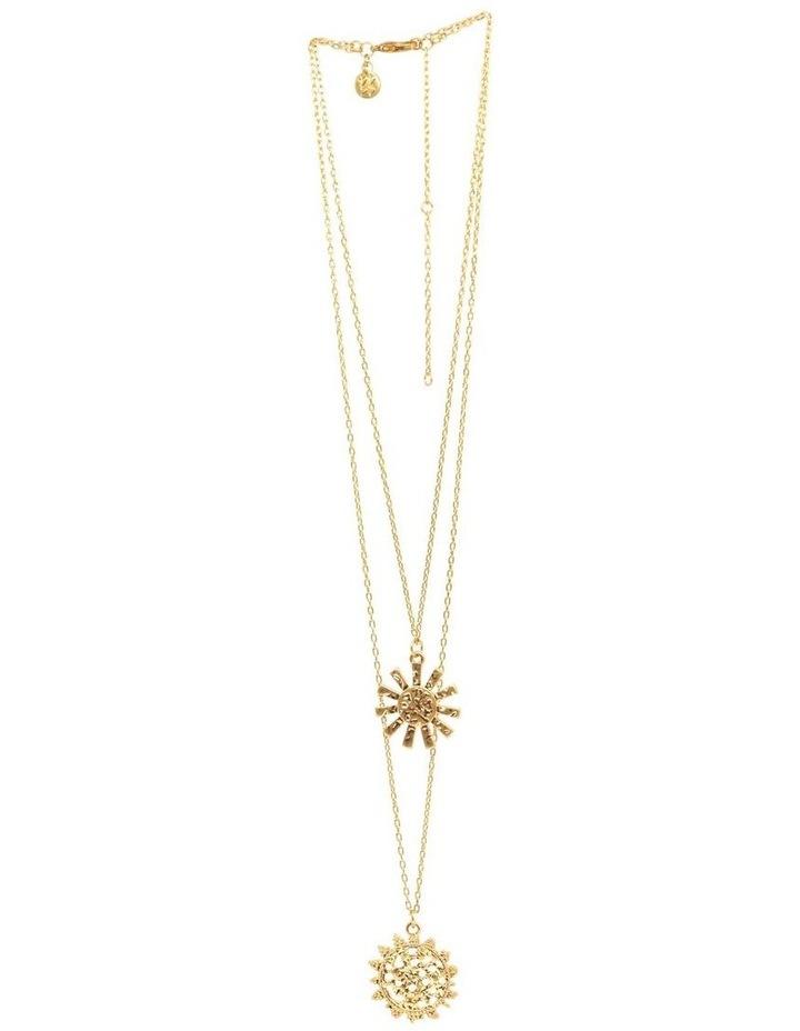 Girasole Double Pendant Necklace image 2