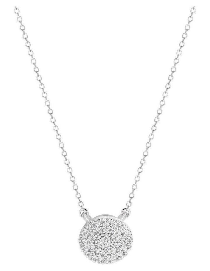 Pavo Rhodium Pendant Sterling Silver image 1