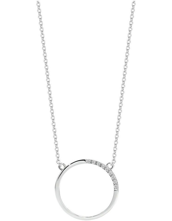 Geo Pendant Sterling Silver image 1