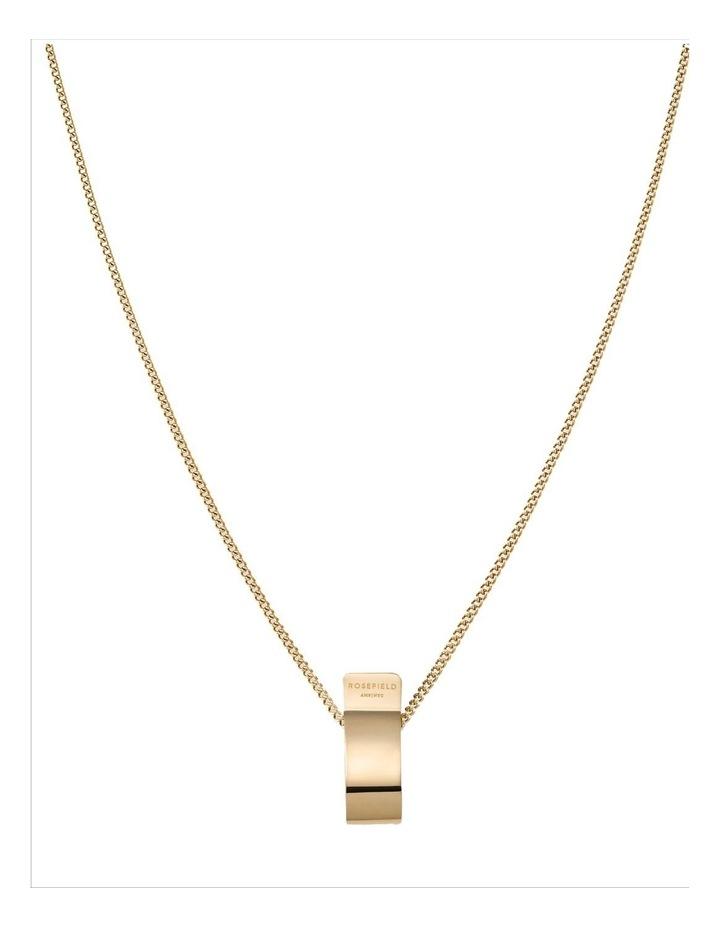 Lois Folded Charm Necklace image 1