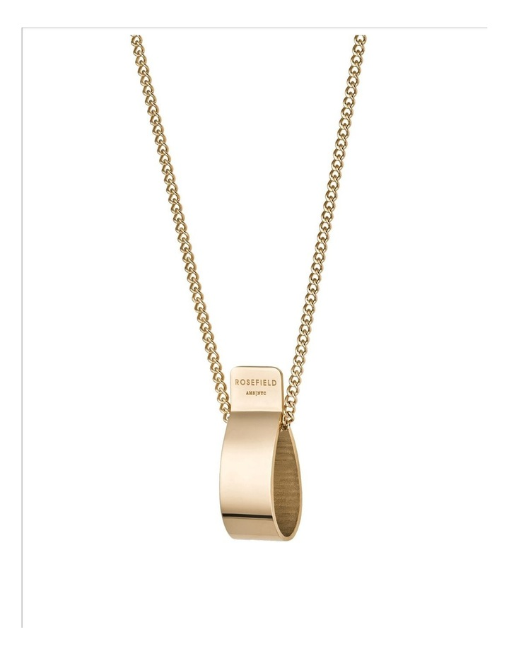 Lois Folded Charm Necklace image 2