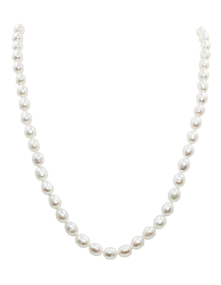 The Classic Pearl White Necklace image 1